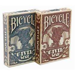 54 Cartes Bicycle Civil Wars