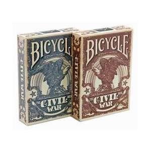 54 Cartes Bicycle Civil Wars