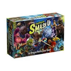 SMASH UP : LA GROSSE BOITE A GEEK