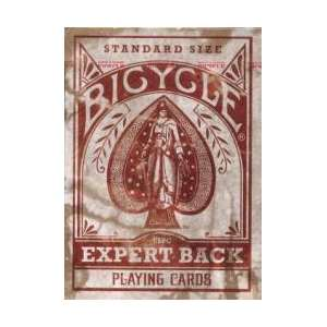 54 Cartes Bicycle Expert Rouge