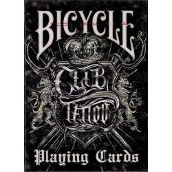54 Cartes Bicycle Club Tatoo