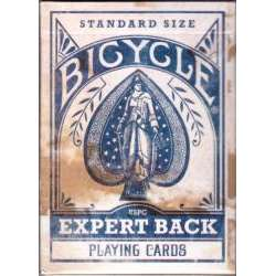 54 Cartes Bicycle Expert Bleu