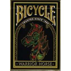 54 Cartes Bicycle Warrior Horses