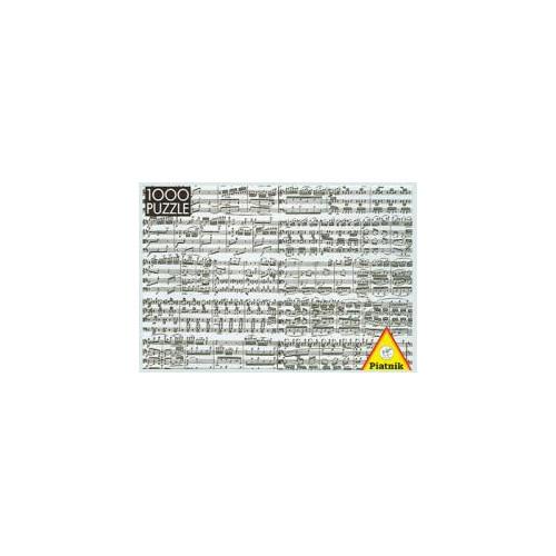 PUZZLE : NOTES DE MUSIQUE x1000