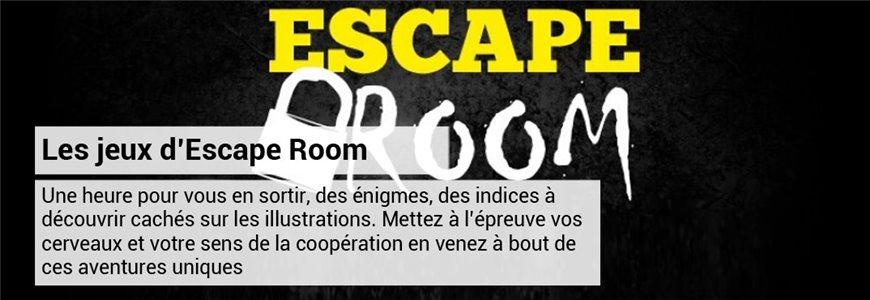 les jeux de société escape room